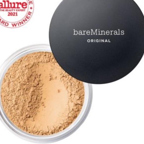 Bare minerals powder foundation golden medium